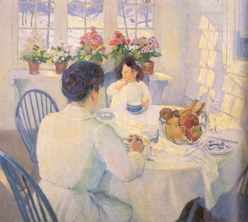 Bernhard Gutmann The Breakfast Room