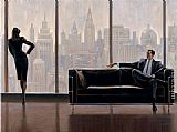 Brent Lynch Pensive New York painting