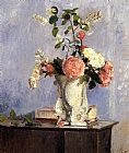 Camille Pissarro Bouquet Of Flowers painting