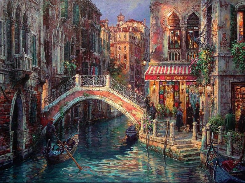 Cao Yong Venice Over the bridge