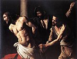 Christ paintings - Christ at the Column by Caravaggio