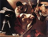 Caravaggio The Crowning with Thorns painting