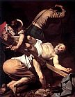 Christ paintings - The Crucifixion of Saint Peter by Caravaggio