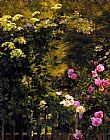 the garden of prayer Paintings - The Rose Garden