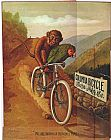 Cassius Marcellus Coolidge Columbia Bicycles painting