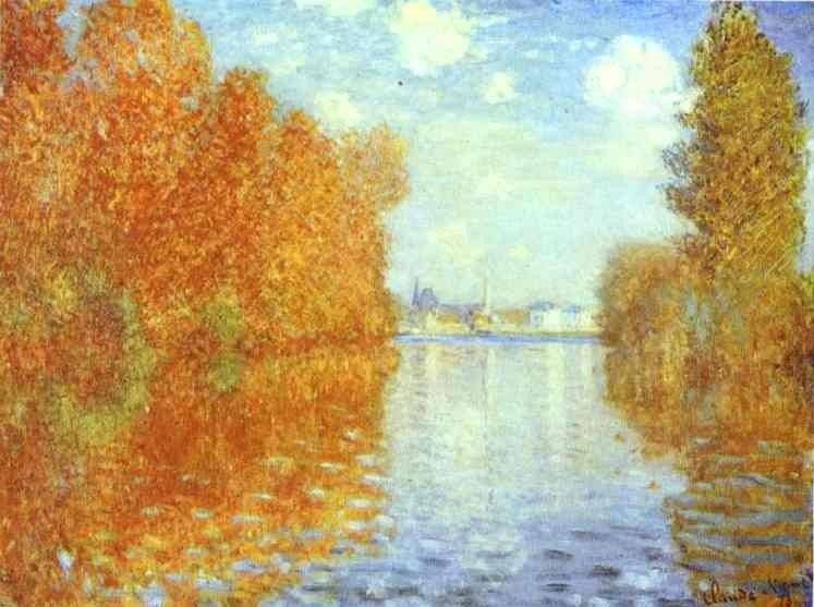 Claude Monet Autumn at Argenteuil