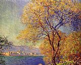 Claude Monet Antibes Seen from the Salis Gardens 1 painting