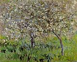 Claude Monet Apple Trees in Bloom at Giverny painting