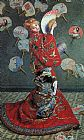 Claude Monet La Japonaise painting