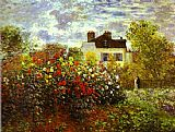 Monet's Garden at argenteuil