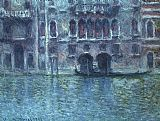 Venice paintings - Palazzo da Mula at Venice by Claude Monet