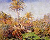 Claude Monet Small Country Farm in Bordighera painting