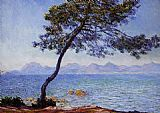 Claude Monet The Esterel Mountains painting