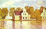 Claude Monet The House on the River Zaan in Zaandam painting