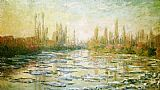 Venice paintings - The Ice-Floes by Claude Monet
