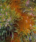 Claude Monet The Path through the Irises painting