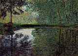 Claude Monet The Pond at Montgeron 1 painting