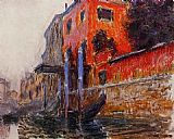 Claude Monet The Red House painting