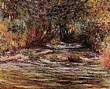 Claude Monet The River Epte at Giverny painting