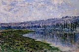 Claude Monet The Seine and the Chaantemesle Hills painting