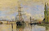 Claude Monet The Seine at Rouen 1 painting