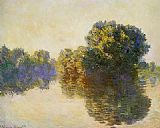 Claude Monet The Seine near Giverny 3 painting