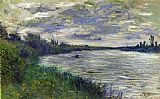 Claude Monet The Seine near Vetheuil Stormy Weather painting