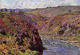 Claude Monet Valley of the Creuse Sunlight Effect painting