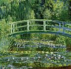 Claude Monet Water Lily Pond painting