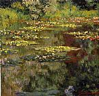 Claude Monet Water-Lilies 27 painting