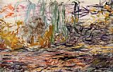 Abstract paintings - Water-Lilies left by Claude Monet