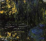 Claude Monet Weeping Willow and Water-Lily Pond 3 painting