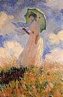Claude Monet Woman with a Parasol 1 painting