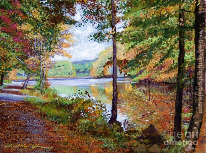 David Lloyd Glover Autumn at Rockefeller Park