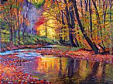 David Lloyd Glover Autumn Prelude painting