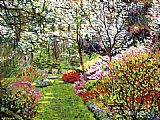 David Lloyd Glover Spring Forest Vision painting