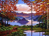 David Lloyd Glover Sunset Reverie painting