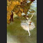 Ballet paintings - The Star I by Edgar Degas