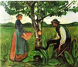 Edvard Munch Fertility 1902 painting