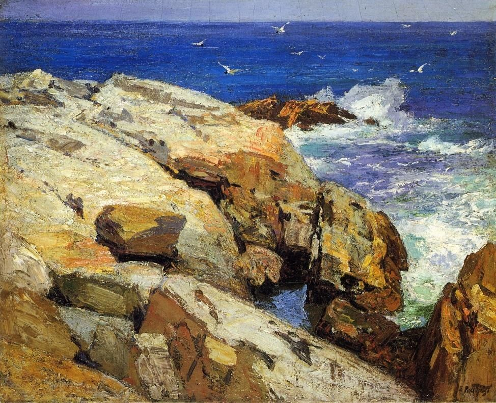 Edward Henry Potthast The Maine Coast