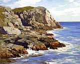 Edward Henry Potthast Monhegan painting