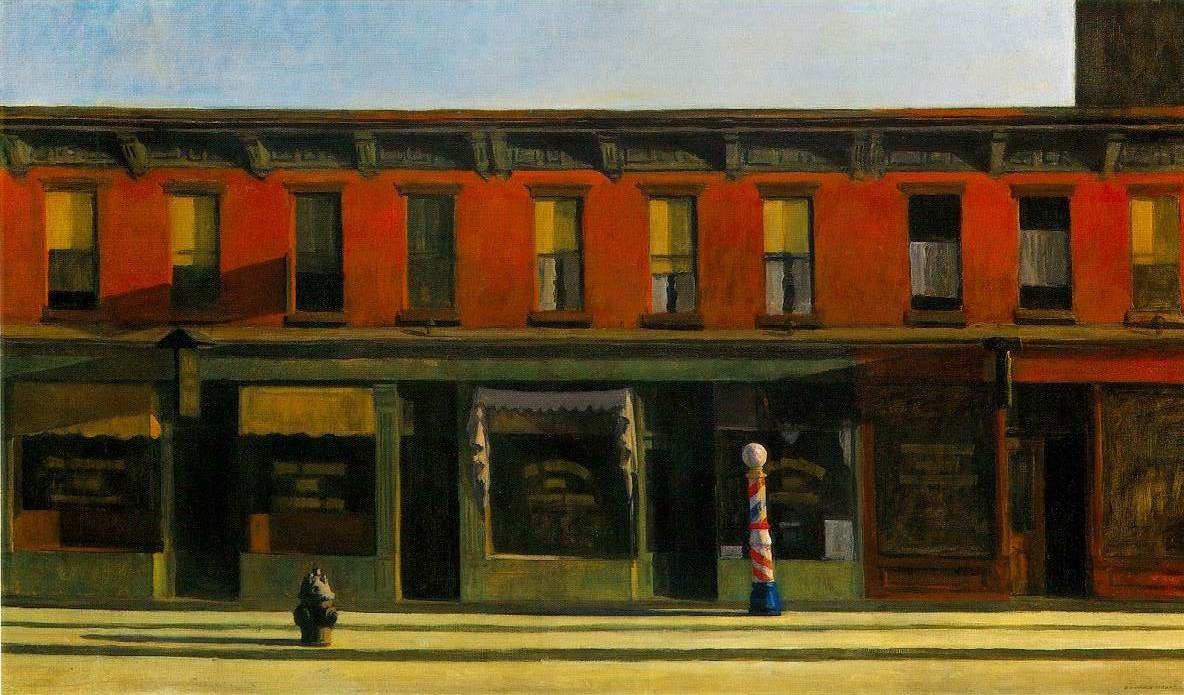Edward Hopper Early Sunday Morning