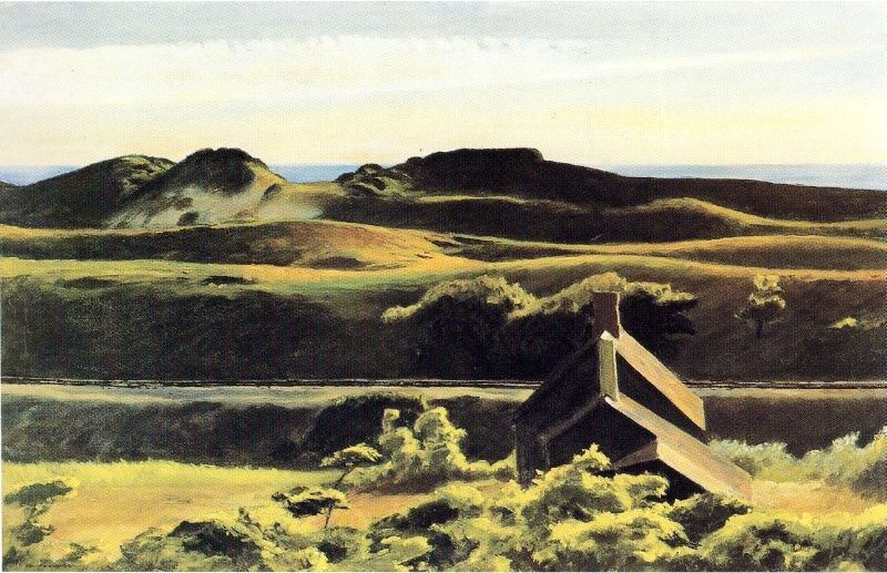 Edward Hopper Hills South Truro