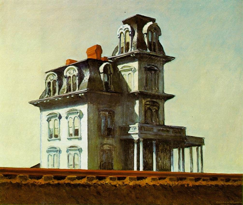 Edward Hopper House by the Railroad