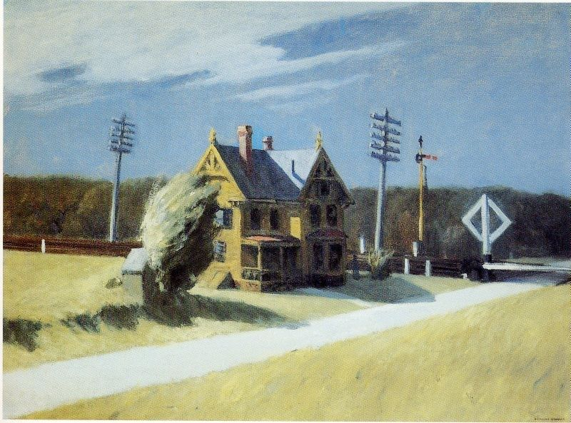 Edward Hopper Railroad Crossing