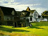 edward hopper Paintings - Cape Cod Afternoon