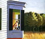 edward hopper Paintings - Cape Cod Morning