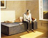 edward hopper Paintings - Excursion into Philosophy