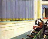 Edward Hopper First Row Orchestra painting