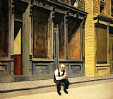Edward Hopper Sunday painting